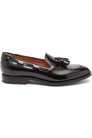 Church's Women Loafers - Kingsley Tasselled Leather Loafers - Womens