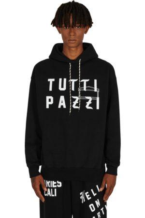 ARIES COLLAB Nts tutti pazzi hooded sweatshirt S