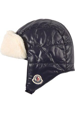 Moncler Kids - Navy Trapper Hat - Unisex - XXS (48cm) - Navy - Trapper hats