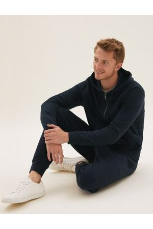 Marks & Spencer Men Sweatpants - Cuffed Cotton Joggers