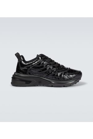 Givenchy Giv 1 croc-effect leather sneakers