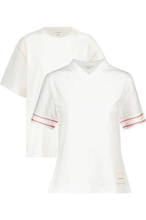 Victoria Beckham Women T-shirts - Set of 2 cotton jersey T-shirts