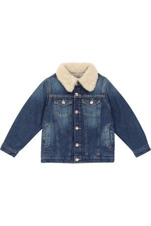 MM6 Maison Margiela Kids Padded denim jacket