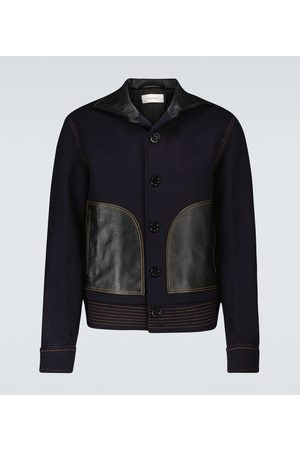 WALES BONNER Brixton wool and cashmere jacket