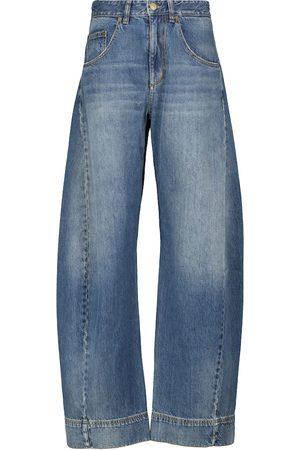 Victoria Beckham High-rise wide jeans