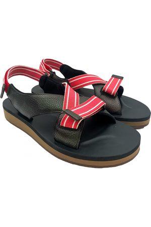 VALENTINO GARAVANI Men Sandals - Leather sandals