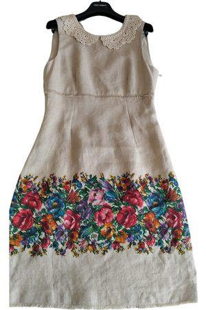 Dolce & Gabbana Linen mid-length dress
