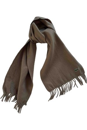 Lacoste Wool scarf & pocket square