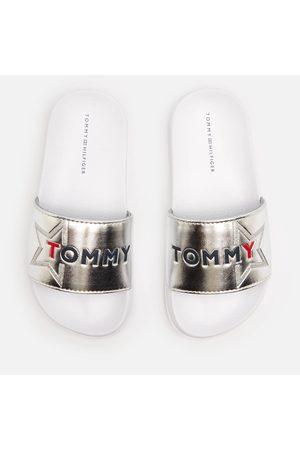 Tommy Hilfiger Kids' Logo Print Sliders