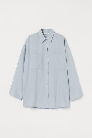 H&M Linen-blend Shirt