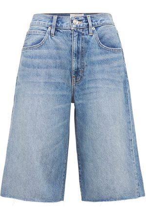 SLVRLAKE Women Shorts - Grace Denim Shorts