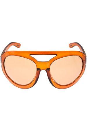 Tom Ford Serena Oversize Round Sunglasses