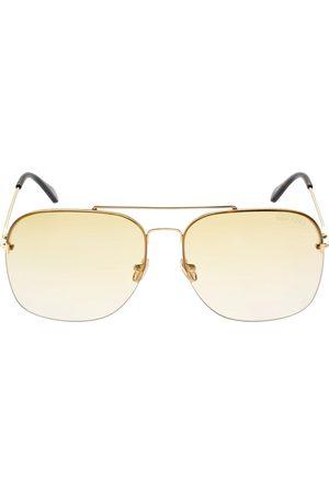 Tom Ford Mackenzie Pilot Metal Sunglasses