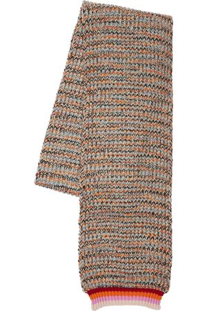 Missoni Cost Inglese Wool Blend Knit Scarf