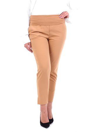 Manila Grace Women Sweatpants - Joggers Women Camel