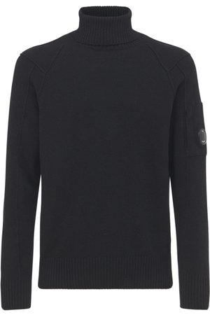 C.P. Company Wool Blend Knit Turtleneck Sweater