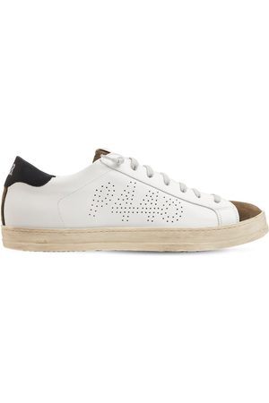 P448 John Leather & Suede Low Top Sneakers