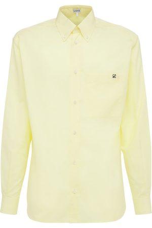 Loewe Men Shirts - Cotton Oxford Shirt