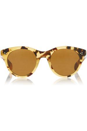 Oliver Peoples Women's Merrivale Round-Frame Tortoiseshell Acetate Sunglasses - - Moda Operandi