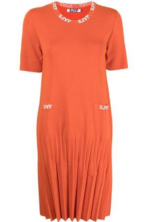 SJYP Women Dresses - Pleated-hem dress
