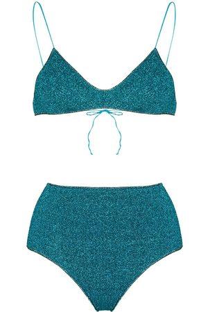 Oséree Lumiere high waisted bikini set