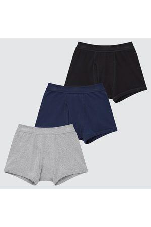 UNIQLO Boy's Boxer Briefs (Set Of 3), , 3Y