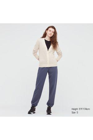 UNIQLO Women Cardigans - Women's Extra Fine Merino V-Neck Cardigan, , XS