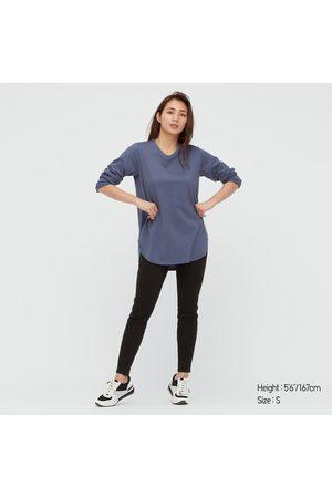 UNIQLO Women's Ultra Stretch High-Rise Leggings Pants, , XXS