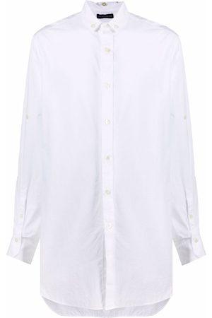 ANN DEMEULEMEESTER Men Casual - Oversize cotton shirt