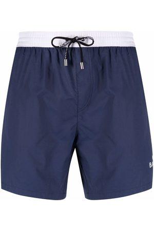 Balmain Logo-print swim shorts