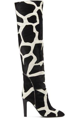 Giuseppe Zanotti Women Thigh High Boots - Hattie 105mm thigh-high boots