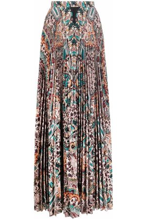 Etro Paisley-print pleated skirt