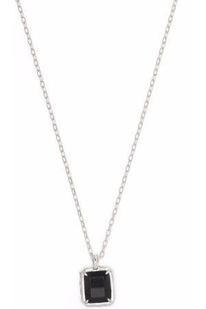 AMBUSH Necklaces - Square stone pendant necklace