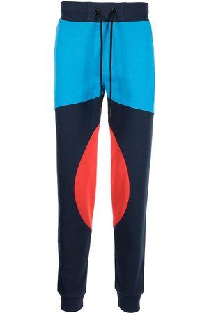 Iceberg Men Sweatpants - Colour-block design trousers - Multicolour