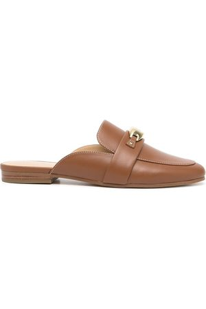 Michael Kors Tilly leather slip-on loafers