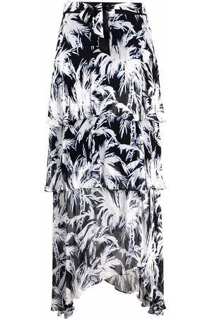 Diane von Furstenberg Women Printed Skirts - Raelynn tropical-print maxi skirt