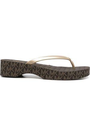 Michael Kors Women Flip Flops - Lilo platform flip-flops