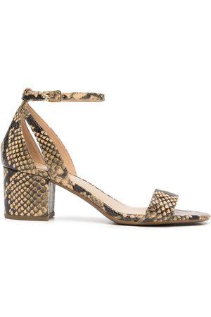 Michael Kors Women Sandals - Cardi Flex snakeskin-effect sandals