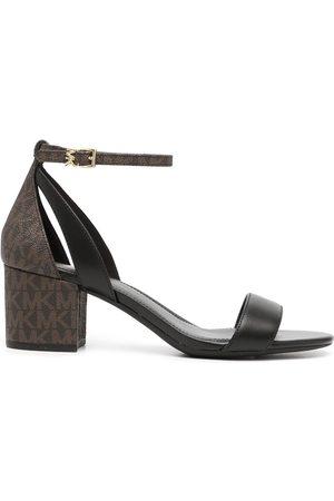 Michael Kors Cardi Flex monogram-print sandals