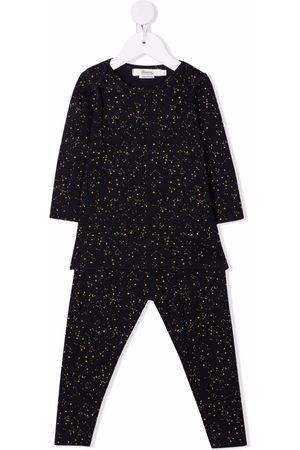 Bonpoint Constellation-print two-piece pajamas