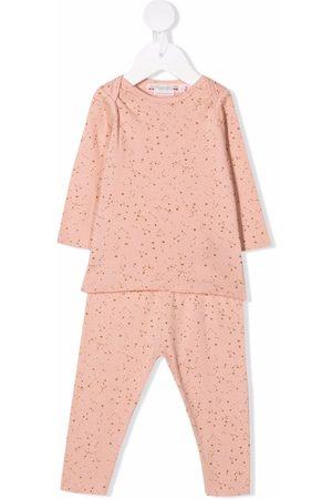 Bonpoint Constellation-motif cotton pajamas set