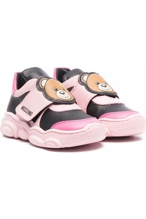 Moschino Girls Sneakers - Teddy strap trainers