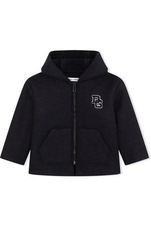 Dolce & Gabbana Boys Duffle Coat - Logo-letter zipped coat