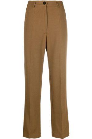 FORTE FORTE Women Formal Pants - Straight-leg tailored trousers