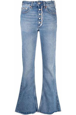 MM6 MAISON MARGIELA Women High Waisted - High-rise straight leg jeans