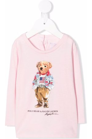 Ralph Lauren Polo Shirts - Polo Bear print T-shirt