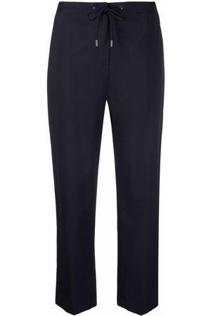 THEORY Women Straight Leg Pants - Straight-leg cropped trousers