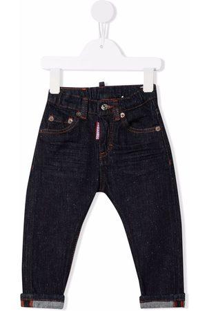 Dsquared2 Dark wash logo-print jeans