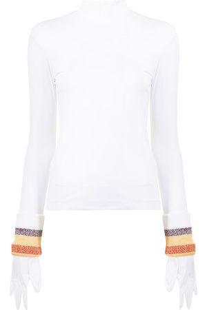 TOGA PULLA Women High Necks - Gloved high-neck top