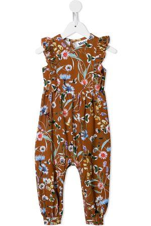 Molo Floral-print jumpsuit
